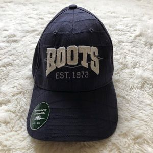 Roots Ball Cap Blue NWT Size L/XL